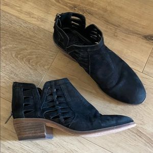 Vince Camuto cutout Booties